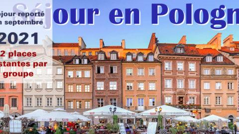 Découvrons la Pologne en septembre 2021