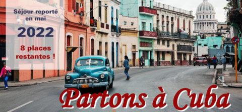 Partons à Cuba !
