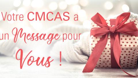 Message CMCAS du 30/10/2020