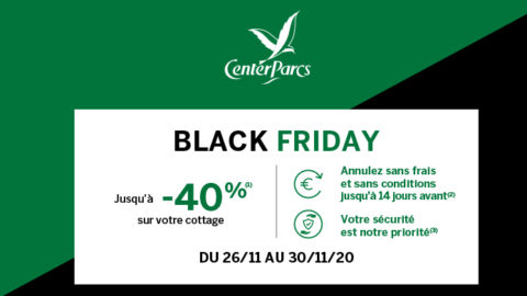 Center Parcs Black Friday